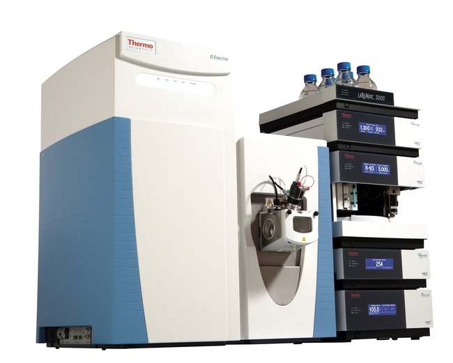 Hybrid Quadrupole-Orbitrap Mass Spectrometer